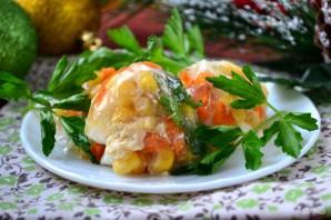 Овощное заливное в яичной скорлупе - фото шаг 6