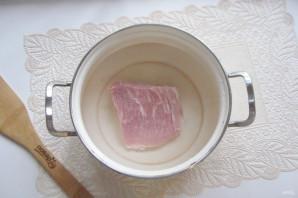 Щавелевый суп с мясом и яйцом - фото шаг 2