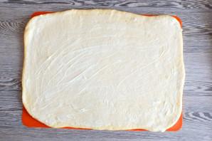 Синнабоны с малиной - фото шаг 9