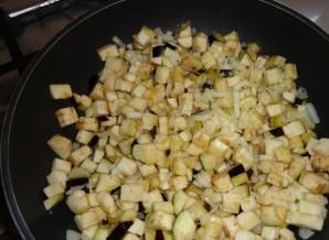 Перец, фаршированный грибами и овощами - фото шаг 3