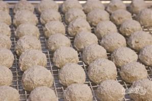 Ореховые пирожные на десерт - фото шаг 8