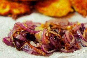 Картофельные драники с беконом - фото шаг 5