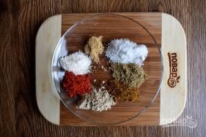 Курица с рисом и овощами в фольге - фото шаг 1