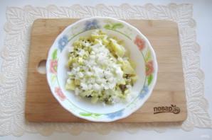 Салат со свининой и солеными огурцами - фото шаг 8