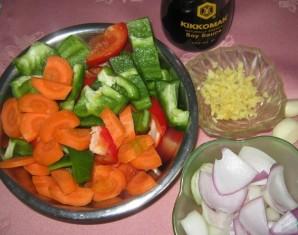 Пангасиус в кисло-сладком соусе - фото шаг 2