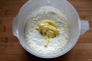 Лимонное печенье «Мадлен» с голубикой  - фото шаг 3