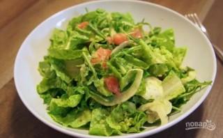 Салат для похудения - фото шаг 3