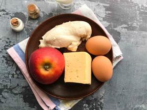 Салат с курицей, сыром и яблоком - фото шаг 1