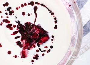 Замороженный йогурт с черникой - фото шаг 3