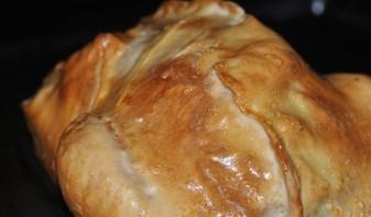 Курица в тесте с картошкой - фото шаг 7