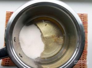 Белковый заварной крем - фото шаг 1