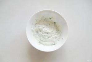 Жареные кабачки со сметанно-чесночным соусом - фото шаг 7
