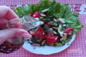 Летний легкий салат - фото шаг 6