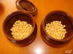 Суп гороховый в горшочке - фото шаг 1