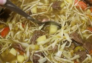 Картофельный суп с говядиной   - фото шаг 13