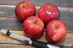 Запеченные яблоки в карамели - фото шаг 1