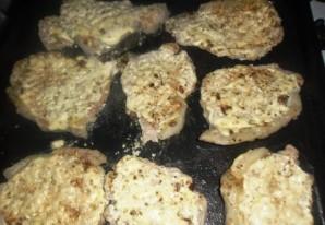 Отбивные из говядины с грибами - фото шаг 6