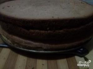 Бисквитный торт с безе - фото шаг 14