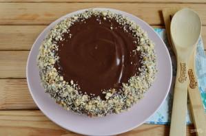 Быстрый шоколадный торт - фото шаг 11