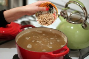 Суп с фрикадельками из индейки  - фото шаг 3