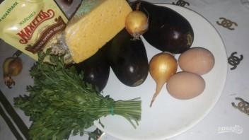 """Лучший рецепт салата с баклажанами, яйцом и майонезом """"Махеевъ"""" - фото шаг 1"""