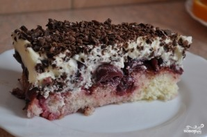 Вишневый пирог с маскарпоне - фото шаг 4