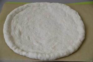 Пицца с зеленью и сыром - фото шаг 13