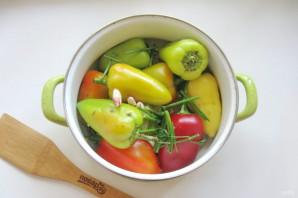 Квашеный болгарский перец на зиму целиком - фото шаг 6