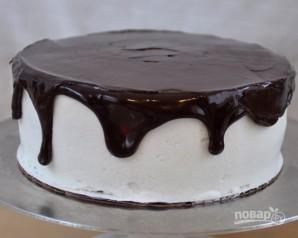 Торт с вишней - фото шаг 9