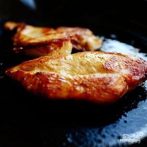 Салат с курицей Буффало - фото шаг 3
