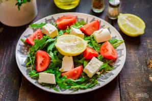 Салат с рукколой и брынзой - фото шаг 5