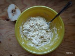Сырники с грушами - фото шаг 4