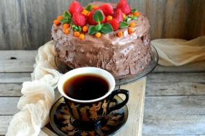 Великолепный шоколадный пирог - фото шаг 12