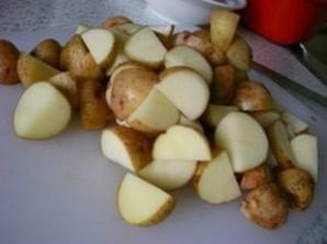 Баранина с картошкой в рукаве   - фото шаг 3