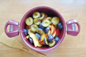 Варенье из персиков и слив - фото шаг 8