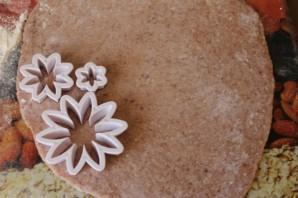 Фасолевые хризантемы - фото шаг 5