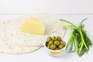 Тортилья с сыром - фото шаг 1