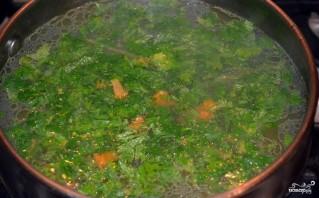 Суп на мясном бульоне - фото шаг 4