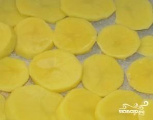Отбивные с картошкой в духовке - фото шаг 4