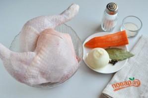 Холодец из куриных окорочков - фото шаг 1