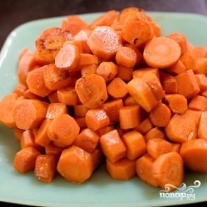 Морковь, глазированная в виски - фото шаг 5