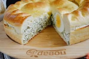 Пирог с творогом и шпинатом - фото шаг 9