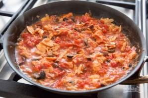 Паста с тунцом и томатами - фото шаг 3