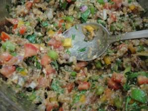 Пита с начинкой из овощей - фото шаг 2