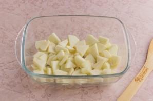 Яблочный пирог ПП - фото шаг 5