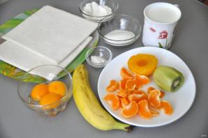 Даниш с фруктами - фото шаг 1