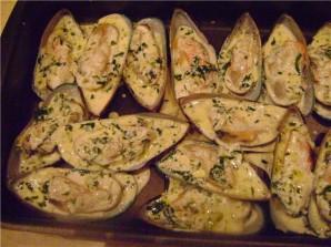Мидии в чесночном соусе - фото шаг 6