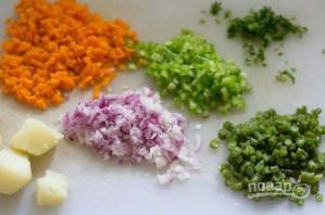 Овощные горячие бутерброды - фото шаг 2