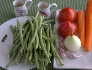 Салат из фасоли на зиму - фото шаг 1