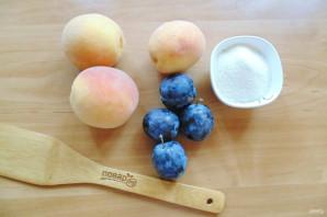 Варенье из персиков и слив - фото шаг 1